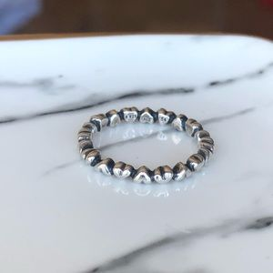 Pandora forever love stackable ring